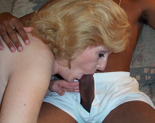 oldr mature swinger wife granny grandma sucks younger bull 20's underwear cocksucker