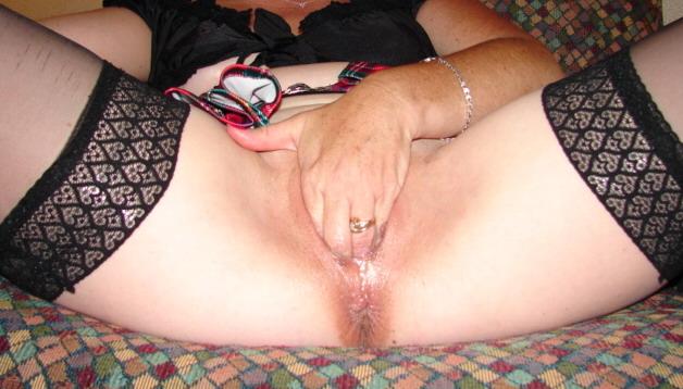 Wife getting ready for Big Black