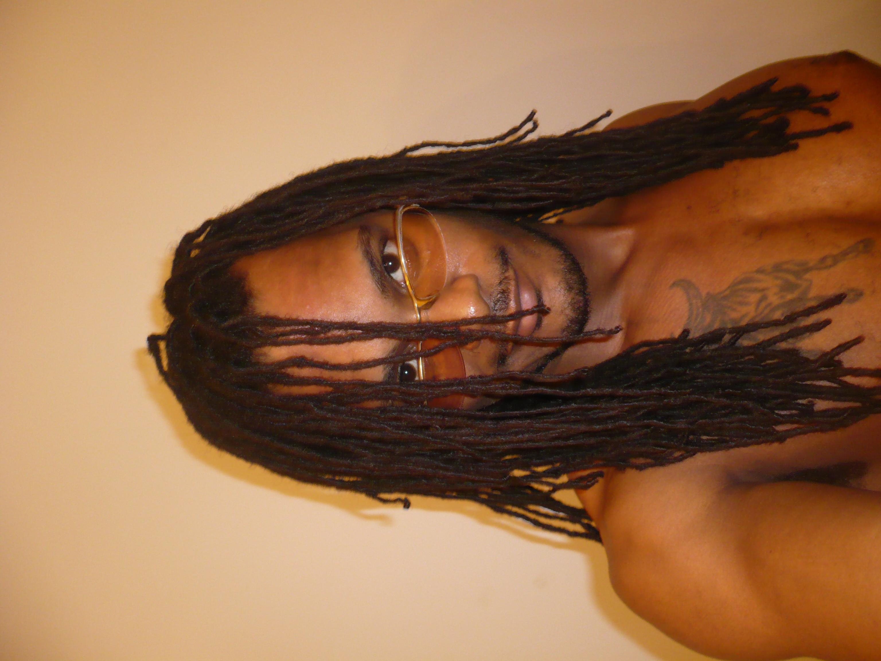 Hair in Face....