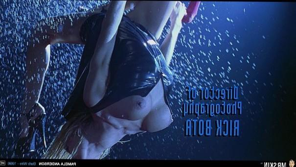 Wet & Wild Pamela Anderson in Barb Wire