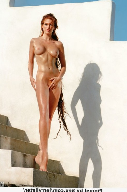 Angie Everhart - nude supermodel
