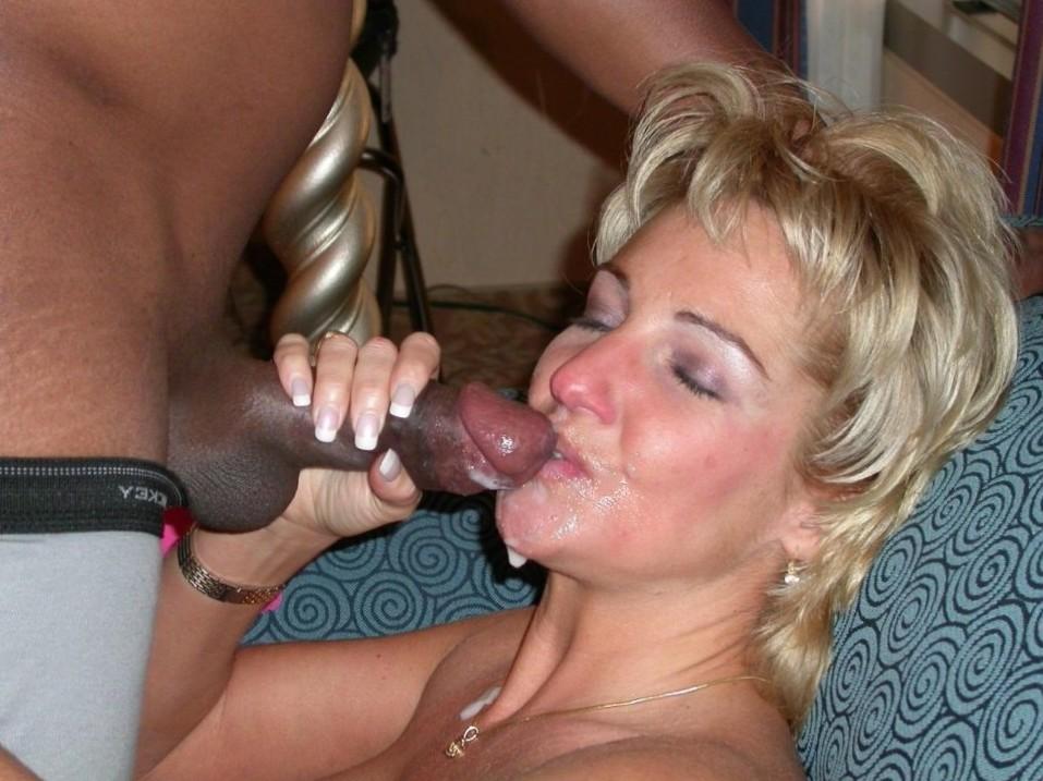 Yea you white slut, lick it clean.