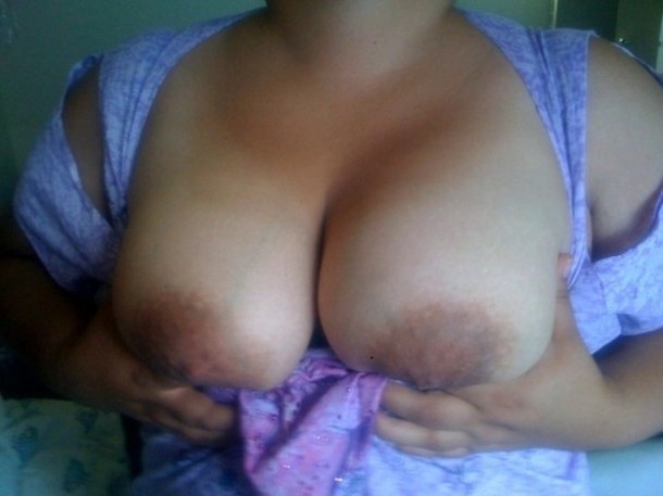 nice big tits on latina bbw