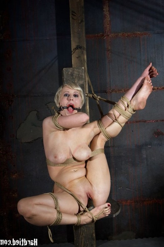 Cherry Torn suffers in extreme bondage