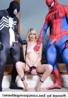 Spiderman and his evil twin bonding Jessica Jensen