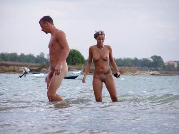 Nude and Beach - Beach Caught Sex