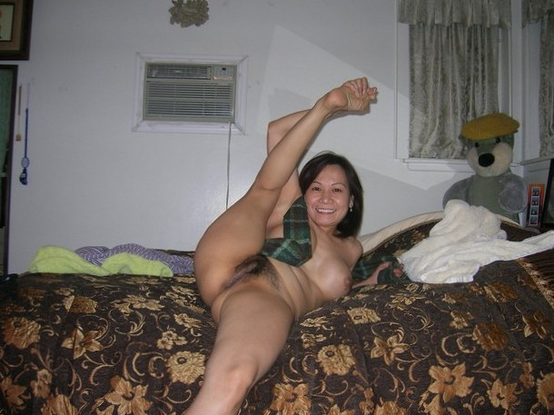flexible asian milf