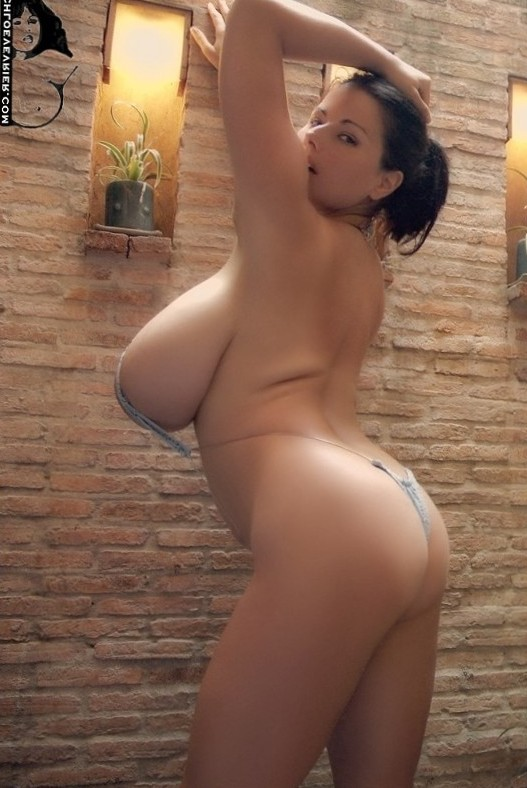 Chloe Verier tiny bikini