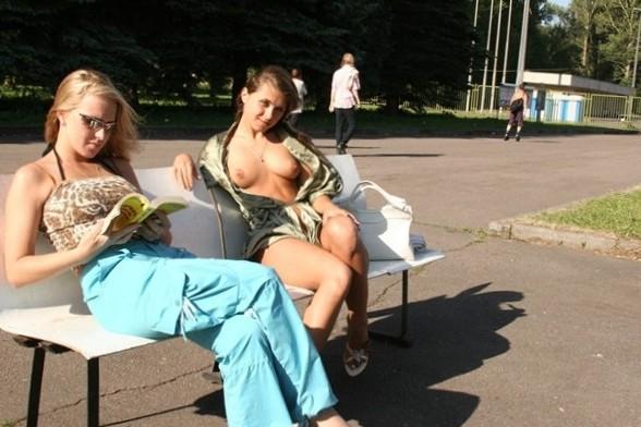 Boobs on Public - Erotica In Public