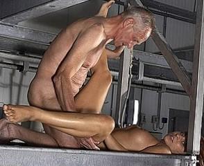 old man ontop
