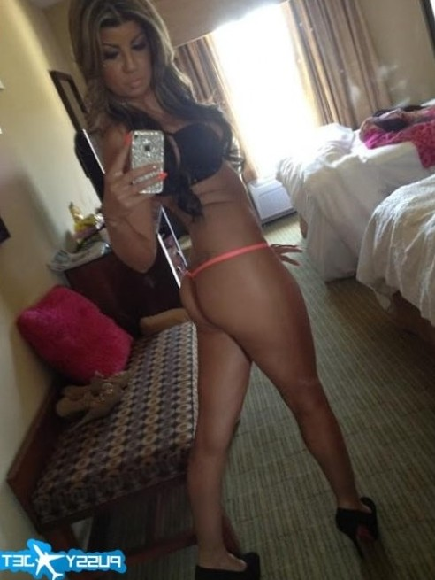sexy babe with nice ass selfshot