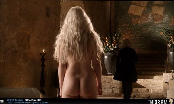 Emilia Clark has a nice ass