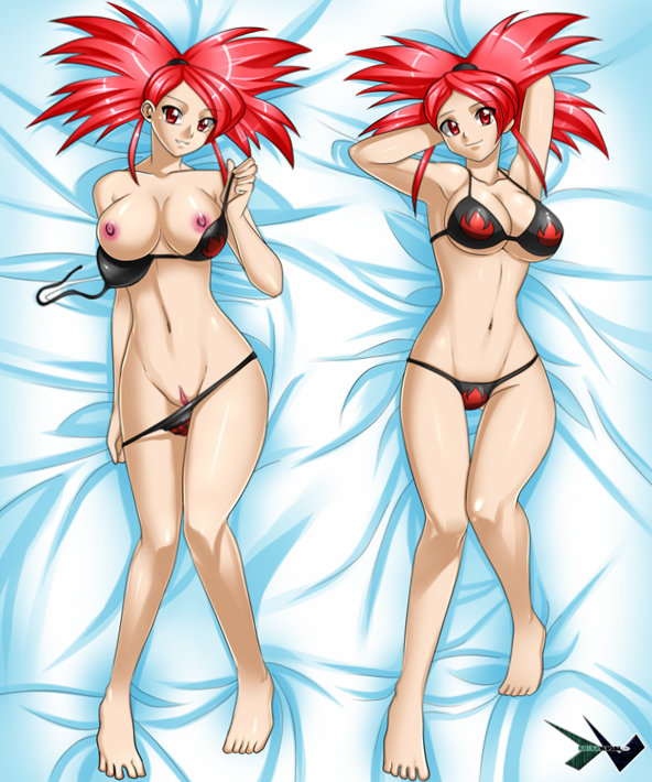 Commission : Flannery Dakimakura by jadenkaiba - Hentai Foundry