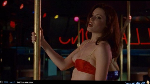 Gillian Jacobs in pole action
