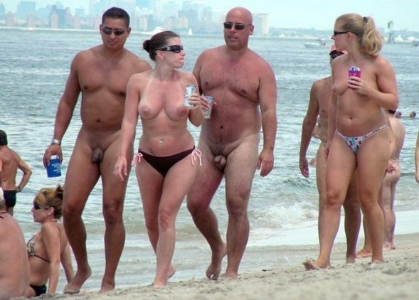 Nude and Beach - Teen Beach Babe