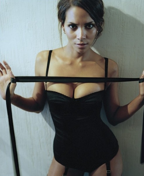 Halle Berry looks great in a tight Teddy
