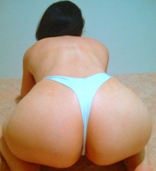 My Curvy Brazilian Wife in white panties